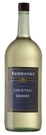 Fairbanks Sherry Pale Dry Cocktail